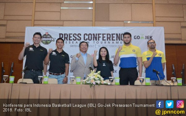 10 Tim Pemanasan di IBL Go-Jek Preseason Tournament 2018 - JPNN.COM