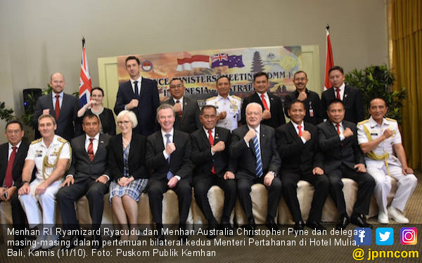 RI-Australia Berkomitmen untuk Memperkuat Hubungan Bilateral - JPNN.COM