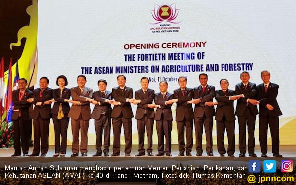 Mentan Sampaikan Capaian Sektor Pangan dalam Forum ASEAN - JPNN.COM