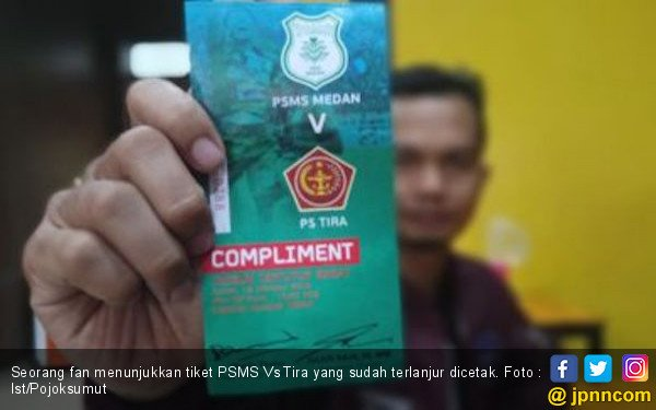 Laga Kontra PS Tira Ditunda, PSMS Tatap Away ke Markas SFC - JPNN.COM