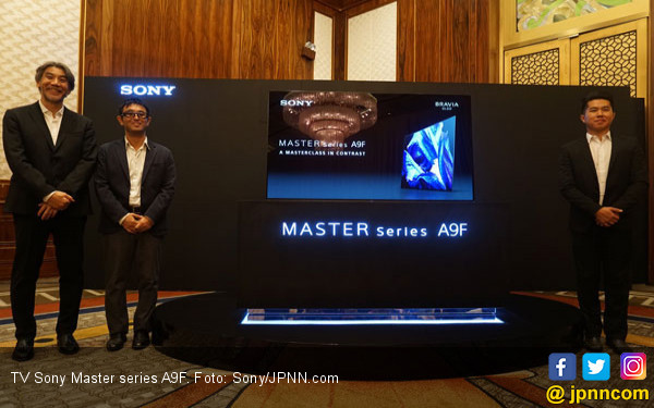 Sony Master Series A9F Resmi Masuk Indonesia - JPNN.COM