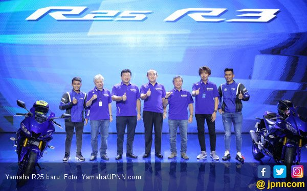 Tampilan Baru Yamaha R25, Netizen Bilang Nirfaedah - JPNN.COM