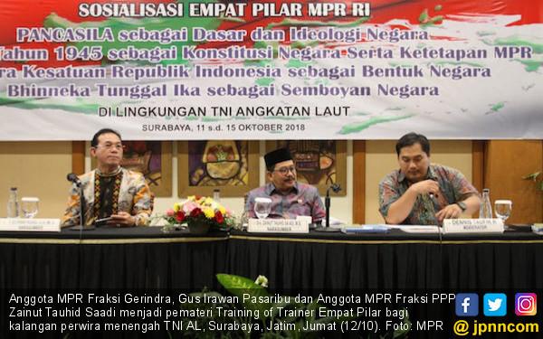MPR: Semua Aturan Harus Sesuai Pancasila dan UUD 1945 - JPNN.COM