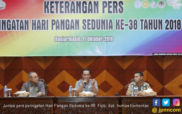 Wujudkan Ketahanan Pangan, HPS Ke 38 Maksimalkan Lahan Rawa - JPNN.COM