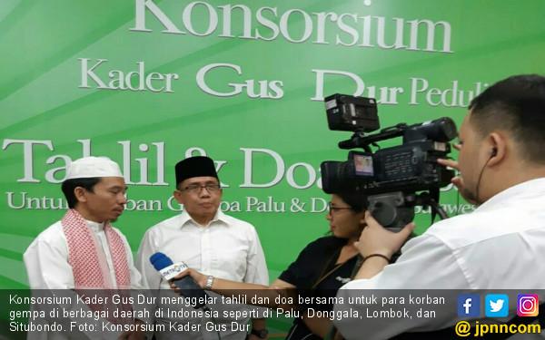 Doa dari Konsorsium Kader Gus Dur untuk Korban Gempa - JPNN.COM