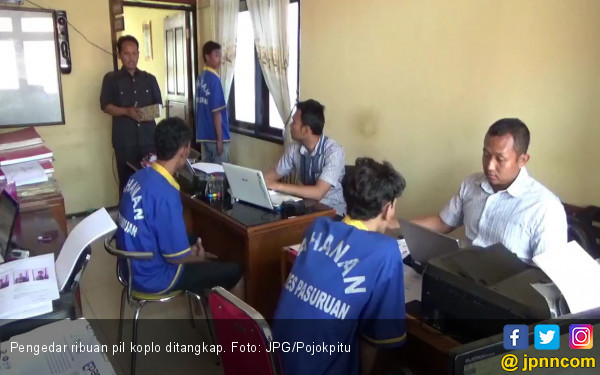 Polisi Sikat Penjual 1.500 Butir Pil Koplo Siap Edar - JPNN.COM