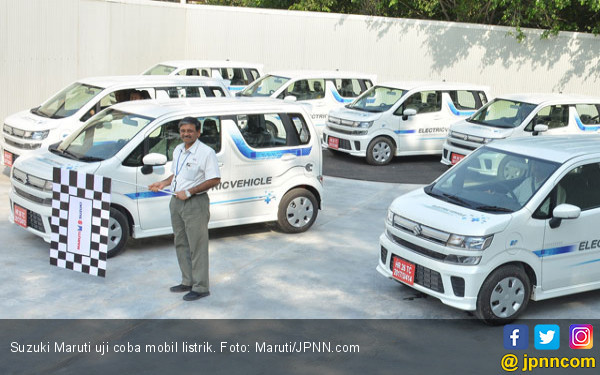 Suzuki Mulai Uji Coba 50 Unit Mobil Listrik - JPNN.COM