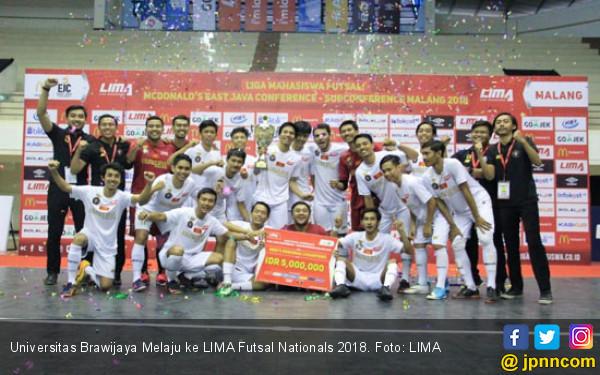 Universitas Brawijaya Melaju ke LIMA Futsal Nationals 2018 - JPNN.COM