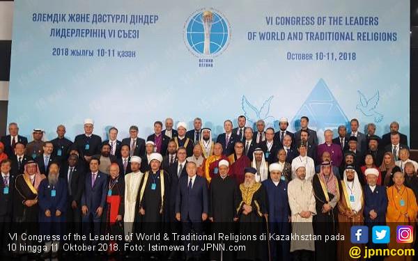 Haedar Nashir Sampaikan Ini di Depan Pemuka Agama se-Dunia - JPNN.COM