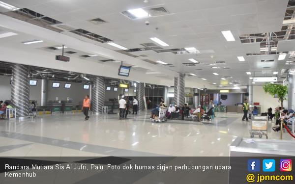 PascaGempa, Dalam Sehari ada 100 Pergerakan di Bandara Palu - JPNN.COM