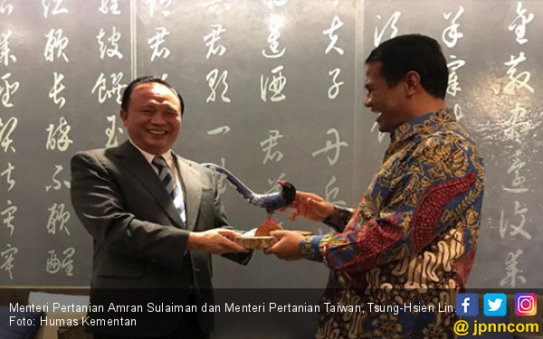 Mentan Amran Gaet Taiwan Investasi Industri Gula Rp 20 T - JPNN.COM