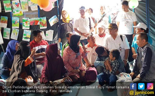 Kemensos Inventarisasi Penerima PKH Korban Bencana Sulteng - JPNN.COM