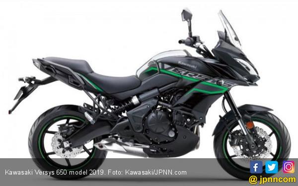 Kawasaki Versys 650 model 2019 Berbanderol Rp 137 Juta - JPNN.COM