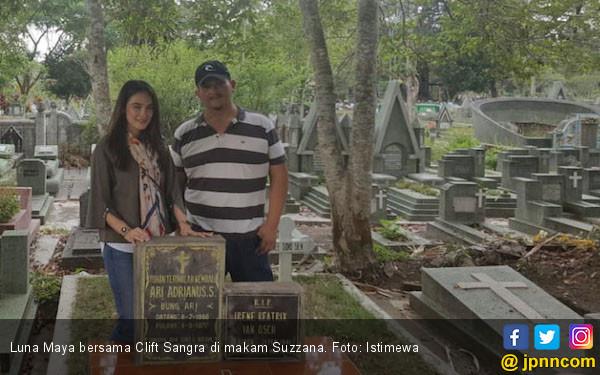 Cerita Horor Luna Maya saat Datangi Rumah Mendiang Suzzanna - JPNN.COM