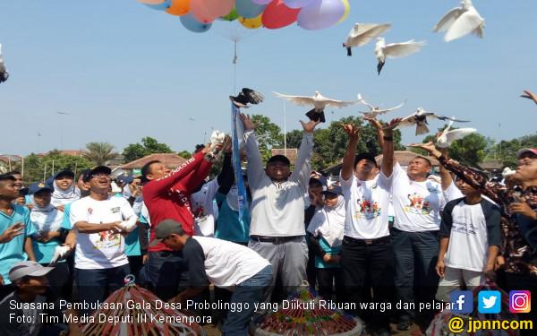 Ribuan Warga Probolinggo Antusias Ikuti Gala Desa 2018 - JPNN.COM