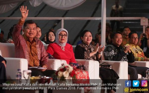Pak JK Mohon Maaf ke Jokowi, Hadirin Tepuk Tangan - JPNN.COM