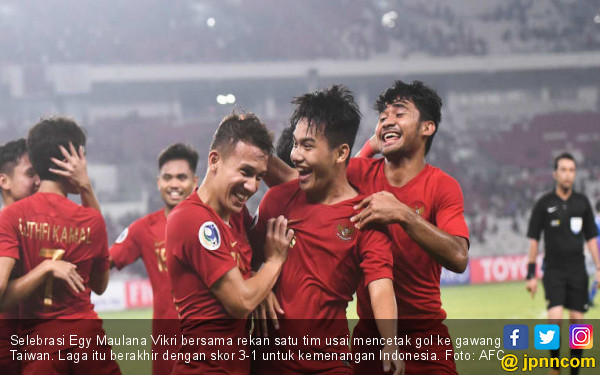 Start Apik, Indonesia Sukses Tumbangkan Taiwan 3-1 - JPNN.com