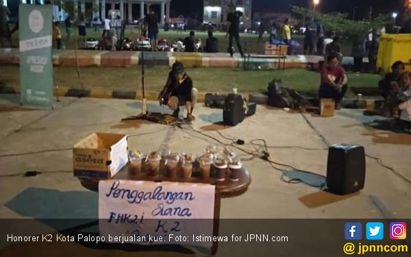 Begini Cara Honorer K2 Galang Dana Aksi 30 Oktober, Halal... - JPNN.COM
