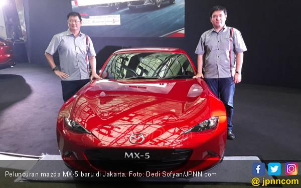 Mazda MX-5 Makin Nendang, Harga jadi Segini - JPNN.COM