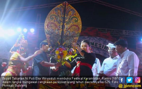 Festival Kerambitan Awali Perayaan HUT Tabanan - JPNN.COM