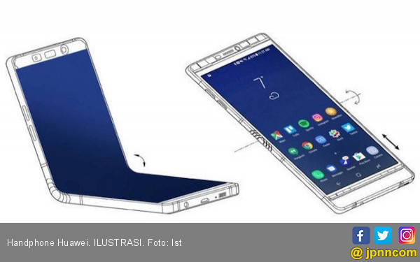 Huawei Segera Luncurkan Ponsel Lipat Berteknologi 5G - JPNN.COM