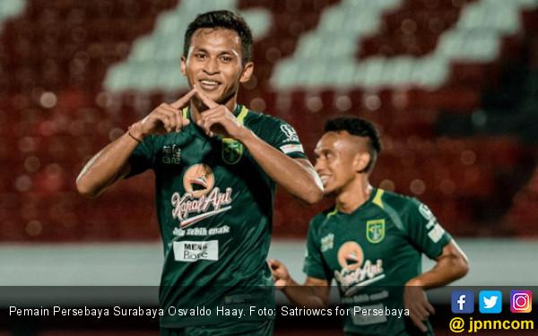 Persebaya Surabaya Resmi Lepas Osvaldo Haay dan Abdul Rohim - JPNN.com