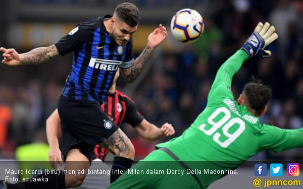 Menang Derbi, Inter Milan Kembali ke Posisi Ketiga - JPNN.COM