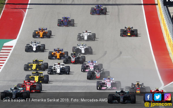 Pendapatan F1 pada Kuartal II Naik, Optimistis Capai Target 2019 - JPNN.com