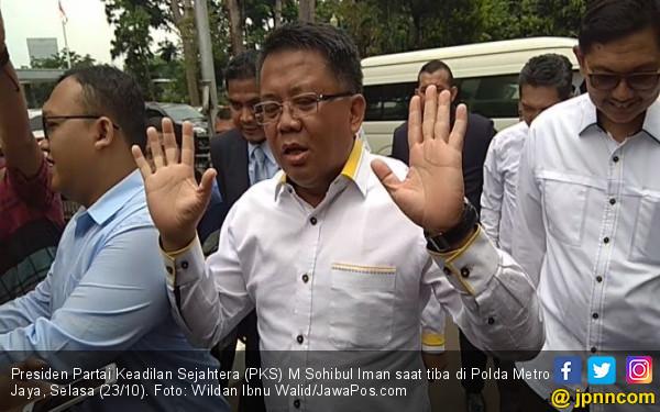 Penuhi Panggilan Polda, Presiden PKS Bergegas Temui Penyidik - JPNN.com