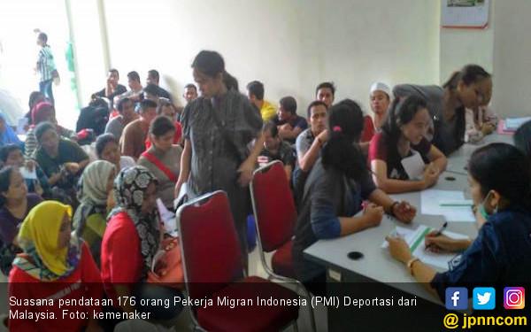 Ribuan Pekerja Migran Indonesia Dipulangkan dari Malaysia, Ini Alasannya - JPNN.com