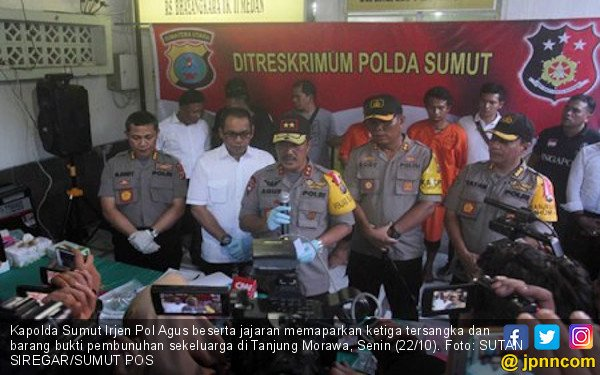 Berita Terbaru Soal Pembunuhan Sekeluarga di Deliserdang - JPNN.com