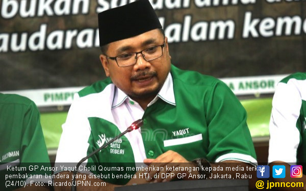 Ketum GP Ansor Adukan ASN Pendukung Khilafah ke Jokowi - JPNN.COM