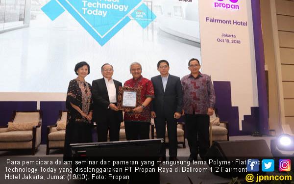 Teknologi Propan Siap Penuhi Kebutuhan Pengecatan Lantai - JPNN.COM