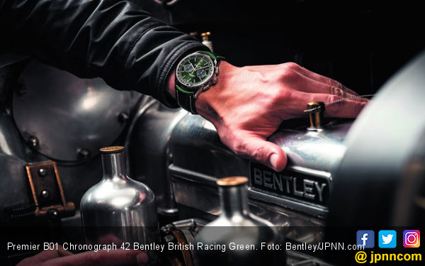 Jam Tangan Hasil Kawin Silang Tradisi Bentley dan Breitling - JPNN.com