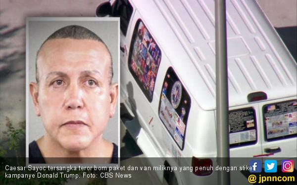 Cezar Sayoc, DJ Kelab Striptis Peneror Musuh-Musuh Trump - JPNN.COM