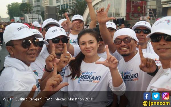 Ben Joshua dan Wulan Guritno Antusias Ikut Mekaki Marathon - JPNN.com