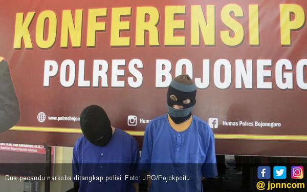 Dua Sahabat Tepergok saat Nyabu Bareng - JPNN.com