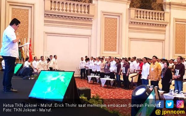 Erick Thohir Pimpin Pembacaan Teks Sumpah Pemuda - JPNN.com