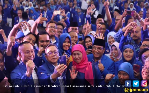 Saat Khofifah Puji Kerja Keras Kader PAN Menangkan Pilgub - JPNN.com