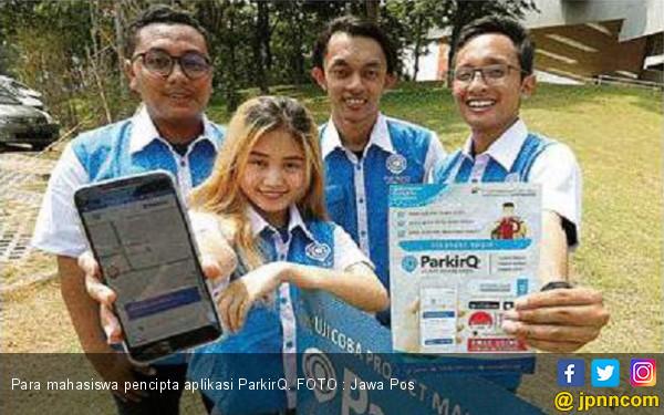 Susah Dapat parkir, Mahasiswa UC Rancang Aplikasi - JPNN.COM