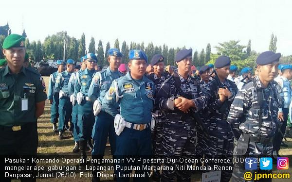 Lanal Denpasar Siapkan Pengamanan Sidang OOC 2018 - JPNN.COM
