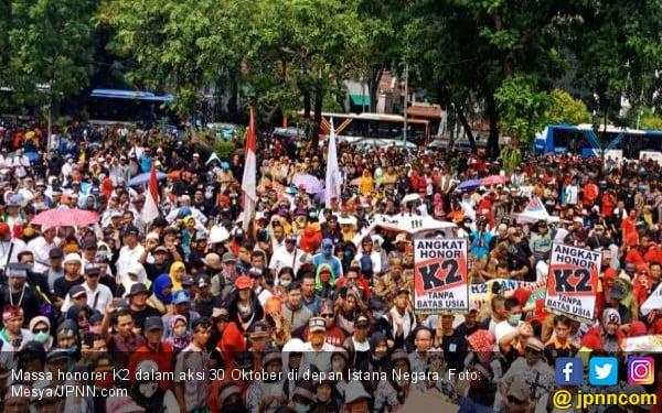 Silatnas Honorer K2 di Bandung, Bentuk Ucapan Terima Kasih pada Jokowi - JPNN.com