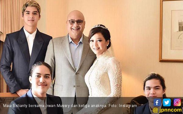 Ini Panggilan Sayang Maia Estianty untuk Irwan Mussry - JPNN.com