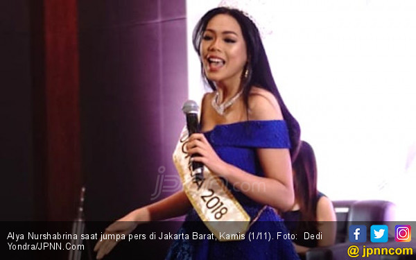Niat Alya Nurshabrina Harumkan Nama Indonesia di Miss World - JPNN.com