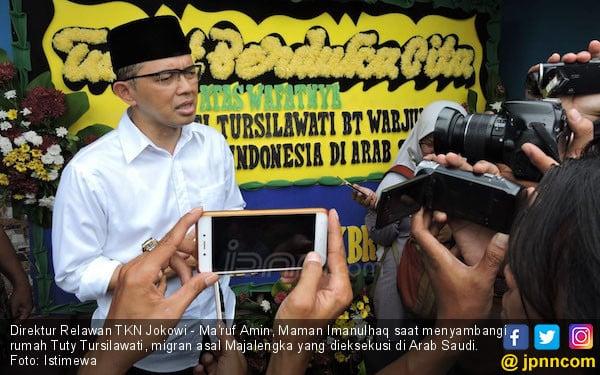 Relawan TKN Jokowi Minta Buruh Migran Dilindungi - JPNN.com