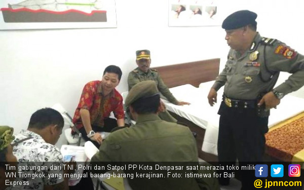 Toko Tiongkok Dirazia, Tak Satu pun Jual Produk Indonesia
