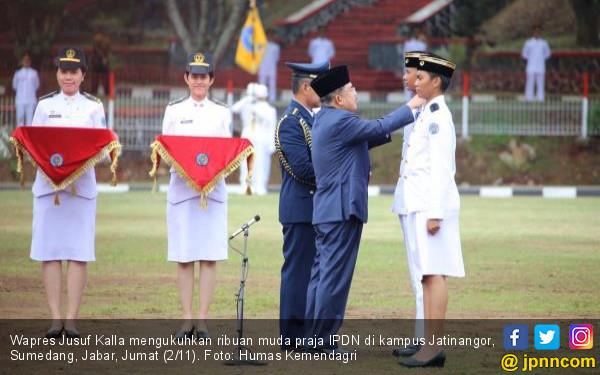 Wapres JK Optimistis Praja IPDN Mampu jadi Duta Antikorupsi - JPNN.COM
