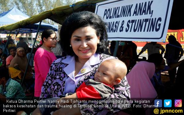 Dharma Pertiwi TNI Gelar Baksos Cegah Stunting di Lombok - JPNN.com