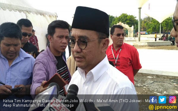 Perolehan Suara Jokowi Ditargetkan Capai 70 Persen di Banten - JPNN.COM