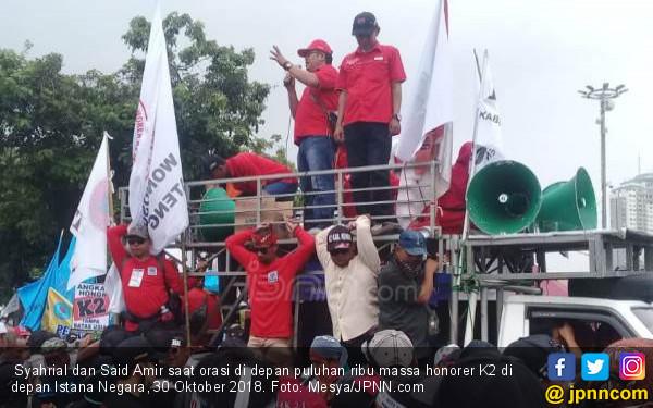 Begini Cara Honorer K2 Cari Dana untuk Aksi di Jakarta - JPNN.COM
